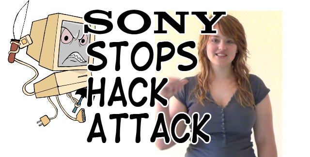 Sony Stops Hack Attack