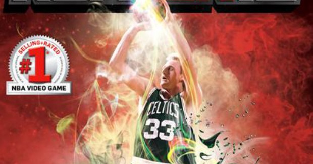 NBA 2K12 Walkthrough Larry Bird Box Art