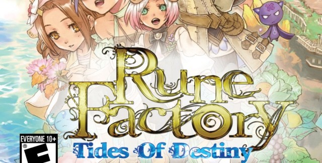 Rune Factory: Tides of Destiny Walkthrough Box Art