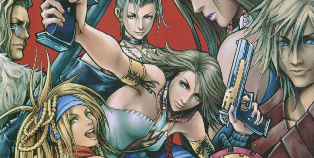 Final Fantasy X-2 Soundtrack: Album Art Work