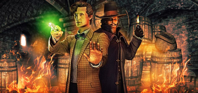 Doctor Who: The Gunpowder Plot Walkthrough Art
