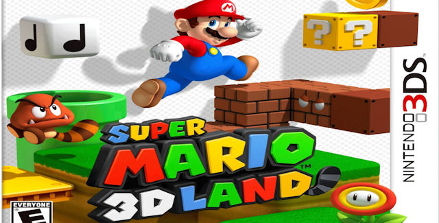 Super Mario 3D Land Walkthrough Box Artwork