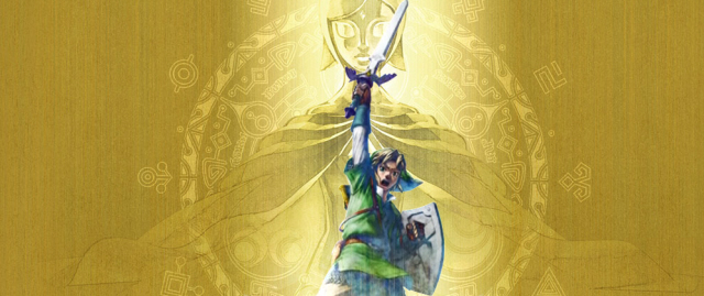 The Legend of Zelda: Skyward Sword game boxart