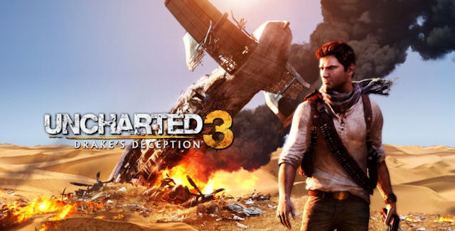 Uncharted 3 walkthrough artwork