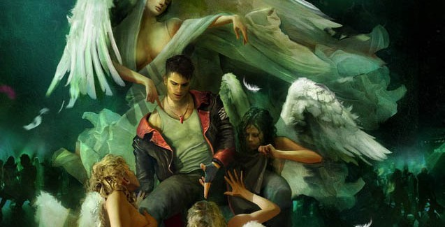 DmC Devil May Cry Angel Artwork