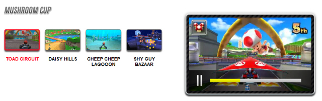 Mario Kart 7 Shortcuts Guide Mushroom Cup Tracks Art