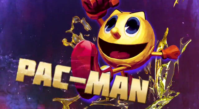 Pac-Man in Street Fighter x Tekken