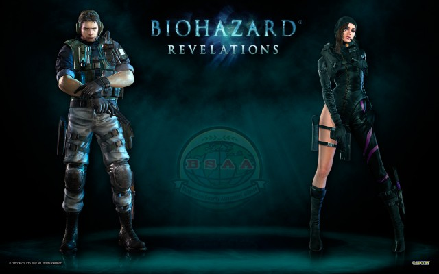 Resident Evil Revelations Jessica - Chris Wallpaper