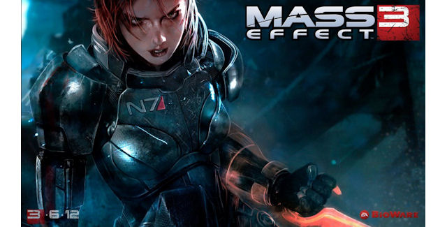 Female Shepard is on Mass Effect 3 box
