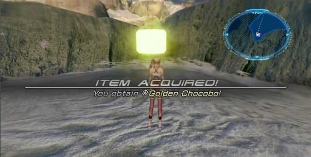 Final Fantasy XIII-2 Golden Chocobo Monster Location Screenshot