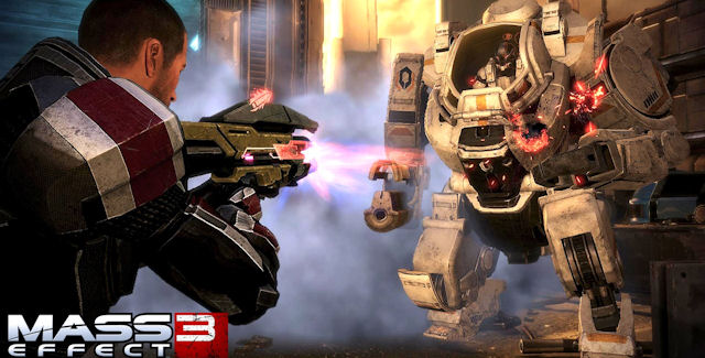 Mass Effect 3 Achievements Atlas Mech Screenshot