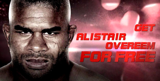 UFC Undisputed 3 Unlockable Character Alistair Overeem