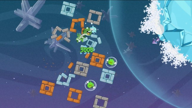 Angry Birds Space Terence Bird Screenshot