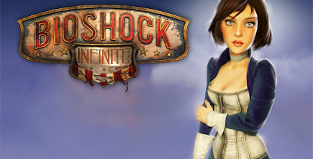 BioShock Infinite logo with Elizabeth
