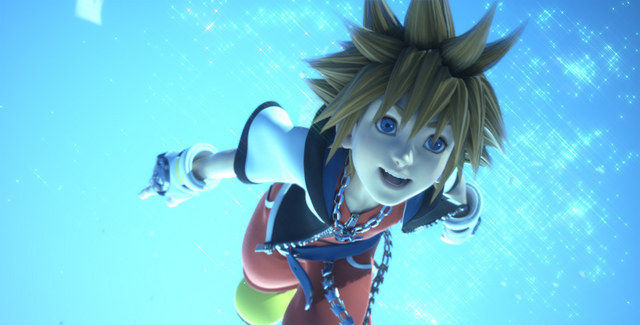 Kingdom Hearts 3D Sora CGI Screenshot