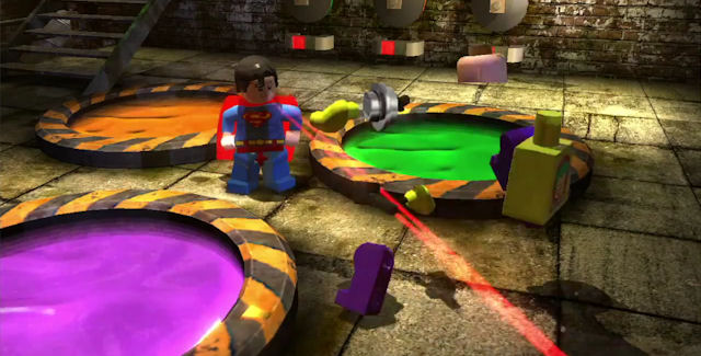 Lego Batman 2: DC Super Heroes Superman Screenshot