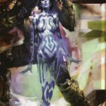 Comic Book Cortana in Halo Graphic Novel's Halo 2 prequel
