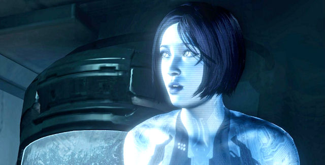 Halo 4 Number 1 Shocks Cortana