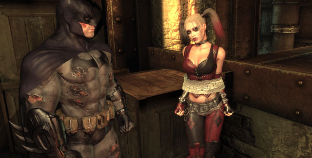 Harley Quinn in Batman: Arkham City screenshot