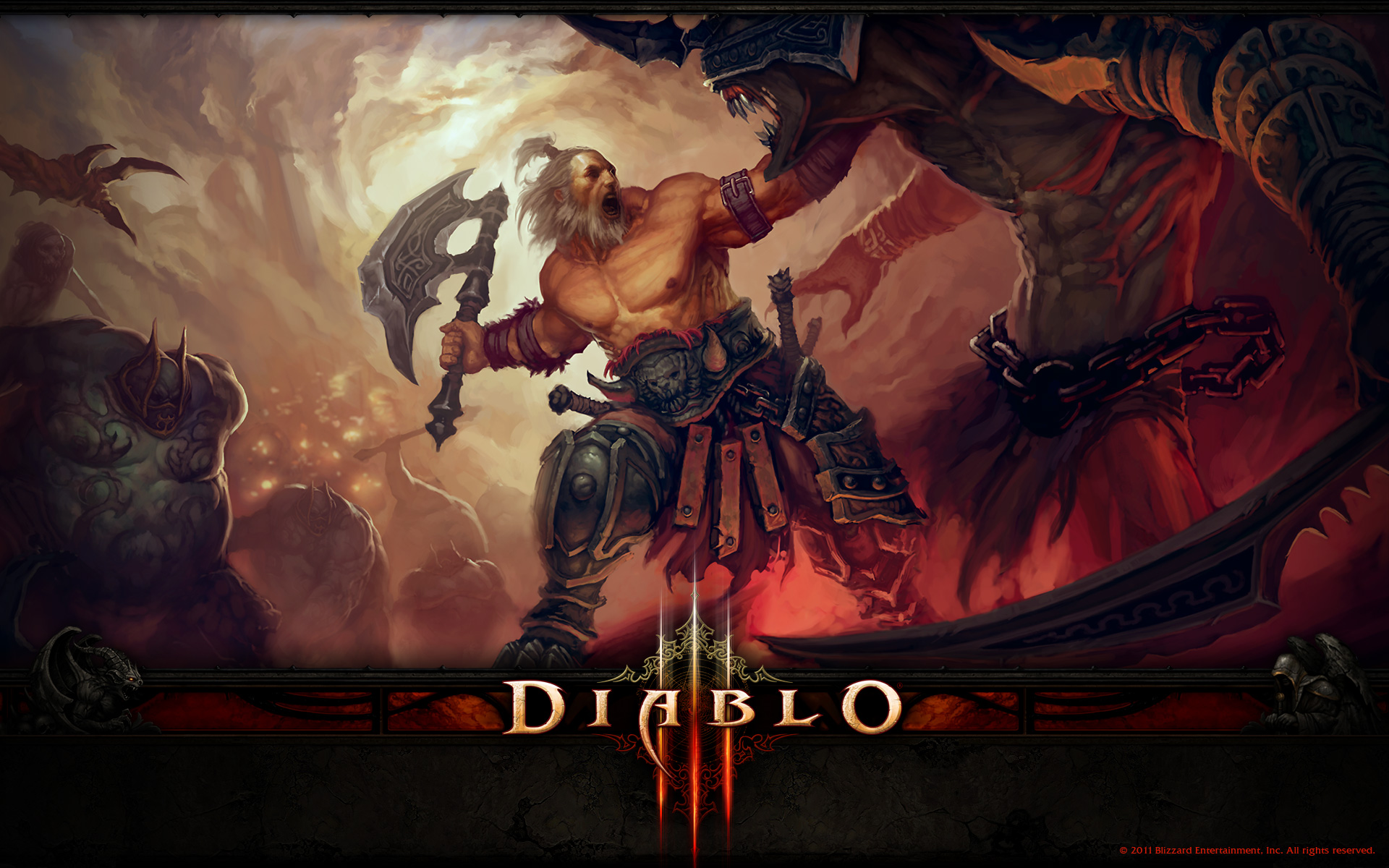 Diablo 3 The Barbarian Wallpaper