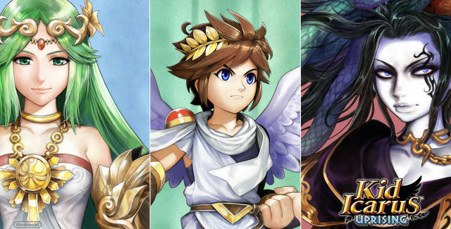 Kid Icarus Characters Images