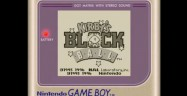 Kirby's Block Ball Game Boy Screenshot