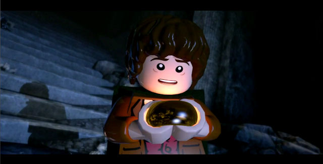Lego The Lord of the Rings video game screenshot