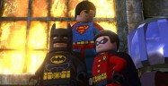 Superman flying in Lego Batman 2