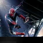 The Amazing Spider-Man 2012 Bridge Swing Wallpaper