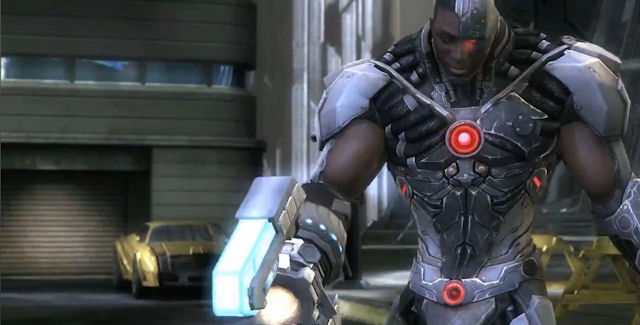 Cyborg joins Injustice Gods Among Us