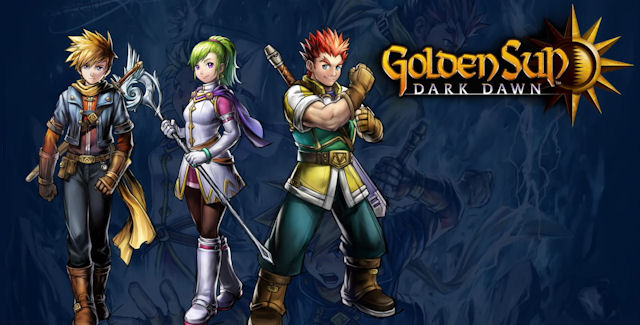 Golden Sun: Dark Dawn artwork