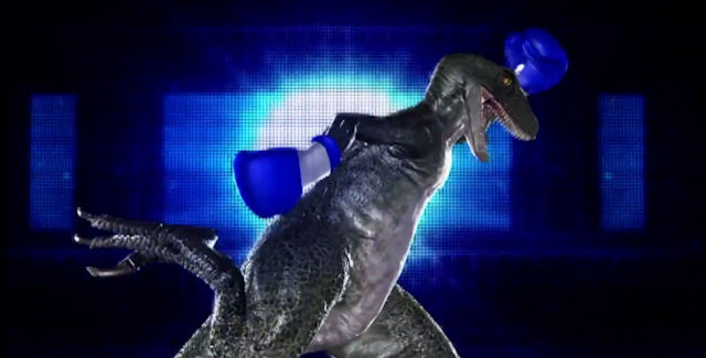 Raptor Alex in Tekken Tag Tournament 2