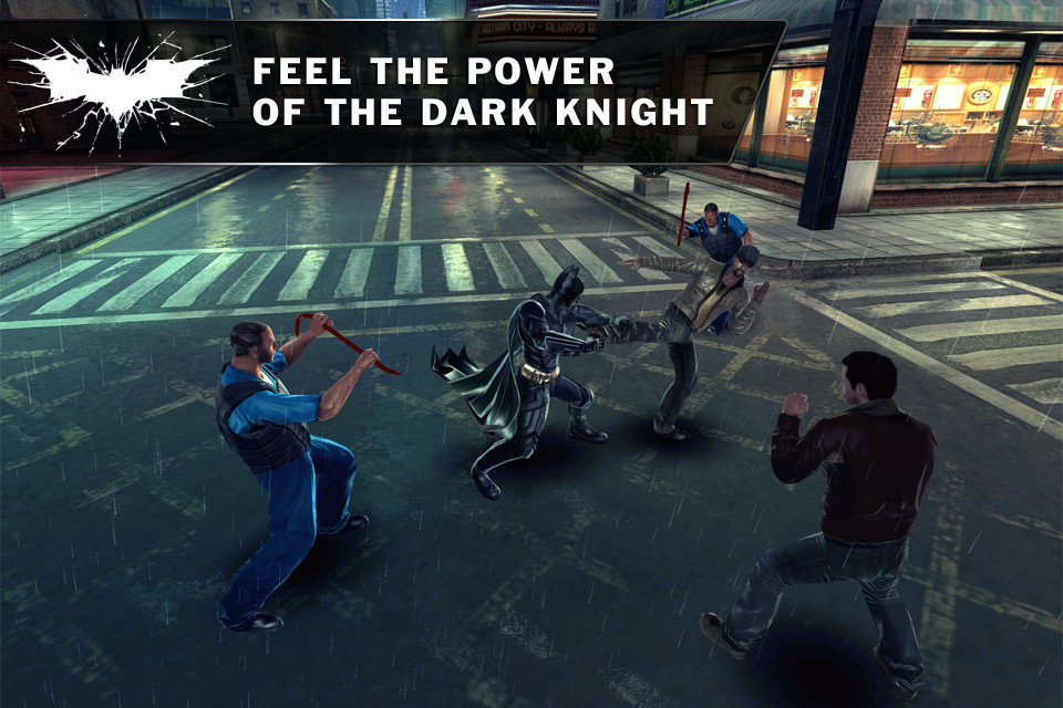 the dark knight video game