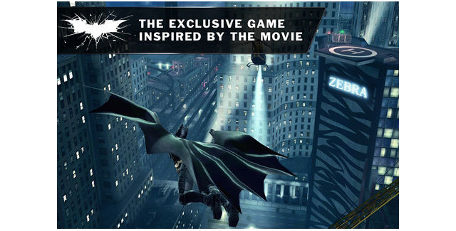 The Dark Knight Rises Video Game screenshot