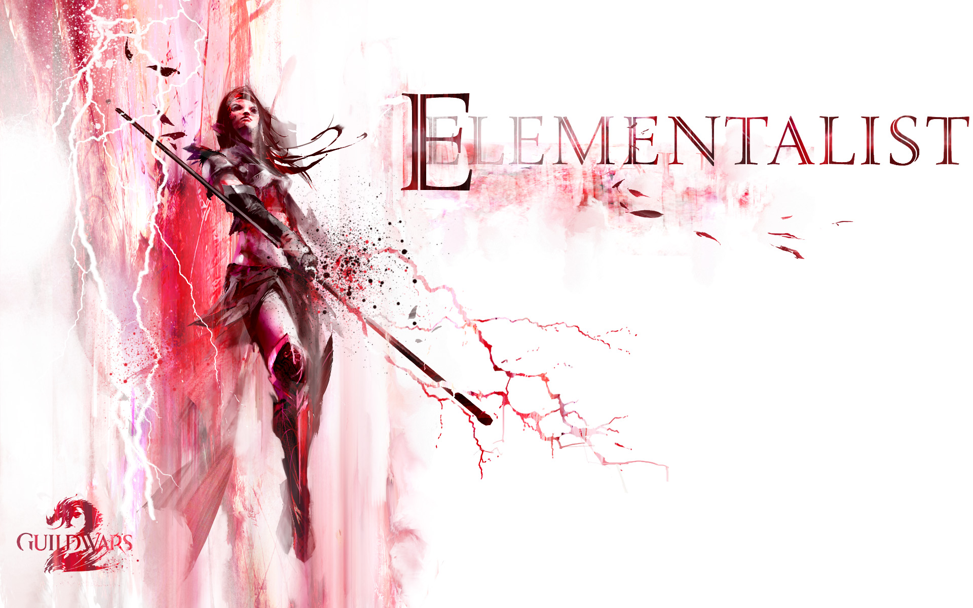 Guild Wars 2 Elementalist Wallpaper