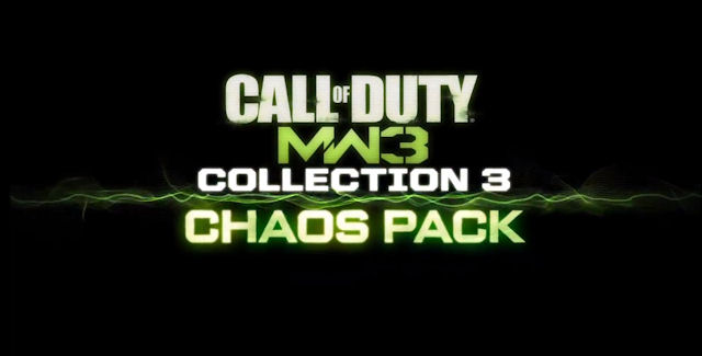 Modern Warfare 3 Collection 3 Logo