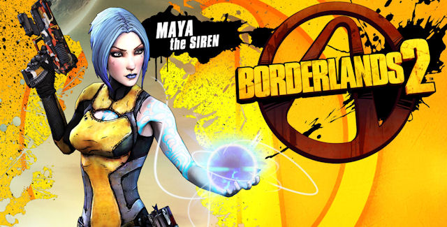 Borderlands 2 Maya The Siren
