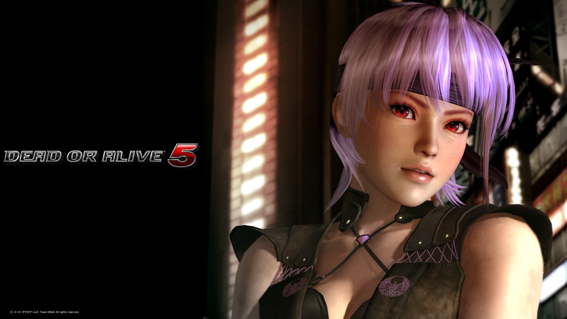 Something is. Dead or alive kasumi and ayane matchless
