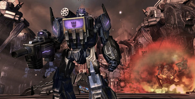 Transformers Fall of Cybertron Soundtrack by DJ Soundwave