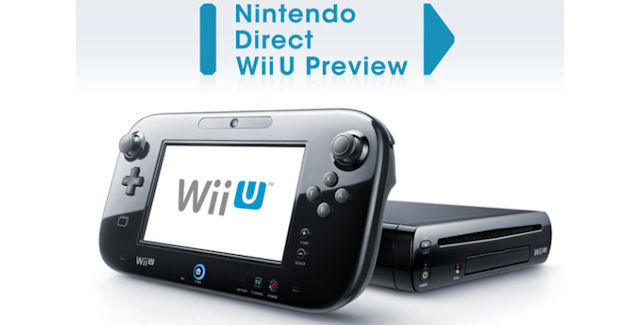 Wii U Nintendo Direct preview event cover