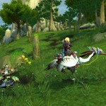 World of Warcraft: Mists of Pandaria Riding Crane Mount
