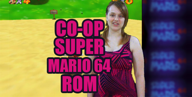 Co-op Super Mario 64 ROM