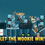 Angry Birds Star Wars Chewbacca screenshot