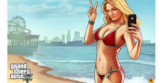 Grand Theft Auto 5 Beach Weather