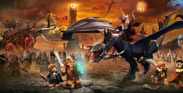 Lego Lord Of The Rings Free Play Switch Characters