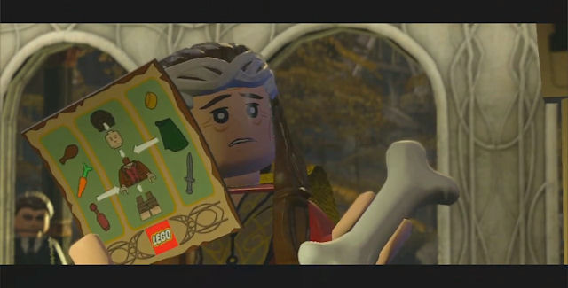 Lego Lord of the Rings Easter Eggs