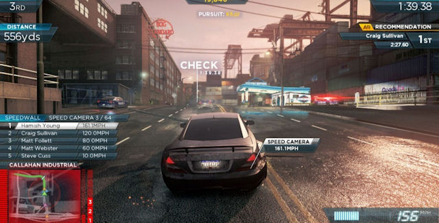 Need for Speed: Most Wanted 2012 Speed Cameras Locations Guide