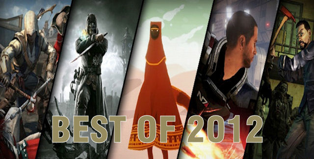 Top 25 Best Video Games of 2012