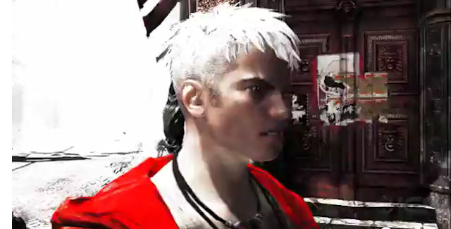 DmC: Devil May Cry Dante white hair
