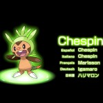 Pokemon X and Y Chespin